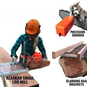 the best alaskan sawmill for chainsaw is granberg